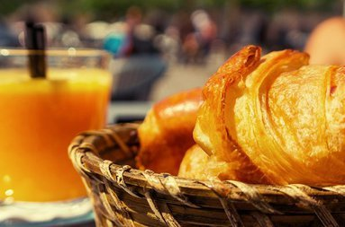 Enjoy a varied buffet breakfast with local products. € 10 per ...